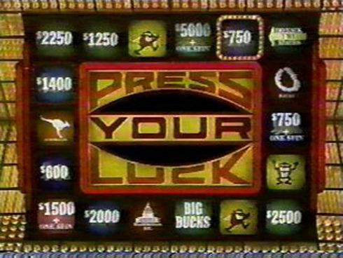 press your luck whammies